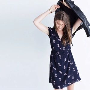 Madewell • Skygaze Dress in Pansy Bouquet